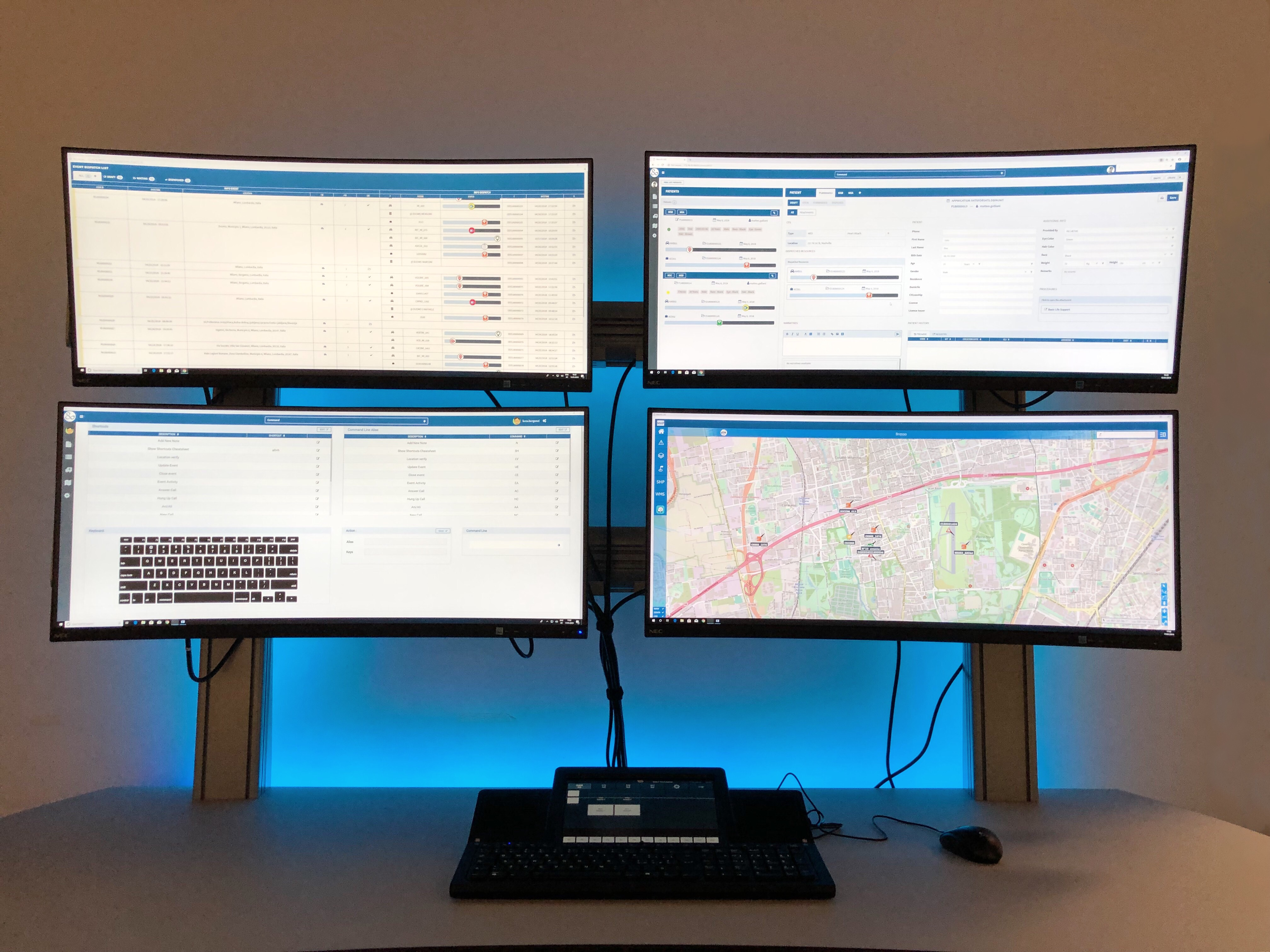 Beta 80 Group Demo center emergency management solutions
